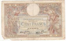 BILLET FRANCE  100  FRANCS   MERSON  20 / 10 / 1938  A.61408