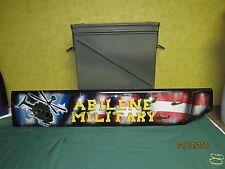 """Ammo Can 30mm (Empty) U.S. Military, 17""""L x 9"""" W x 14""""D Airtight Storage Box"""