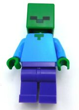 LEGO NEW MINECRAFT ZOMBIE MINIFIGURE FIGURE