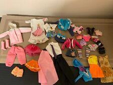 BARBIE Clothes Varsity Jacket Swimsuits Skirts Rain Coat Shorts Shirts Lot