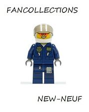 LEGO Minifigure - Forest Police - Helicopter Pilot - cty267  NEUF