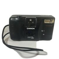 CHINON DX  Focus Free 35mm Camera Auto GL-II Camera *Used* *Untested* *AS IS*