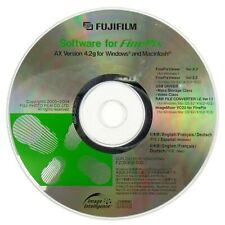Fujifilm Finepix Viewer AX Version 4.2gDigital Camera CD Software Disk