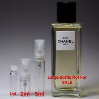 Chanel Les Exclusifs BOY Eau De Parfum - SAMPLE 1ml 2ml 5ml Perfume