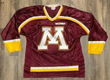 Minnesota Gophers Hockey Jersey Koronis Sports Vintage Mens Large Stitched 90s
