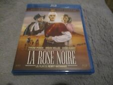 """BLU-RAY """"LA ROSE NOIRE"""" Tyrone POWER Orson WELLES Cecile AUBRY / Henry HATHAWAY"""