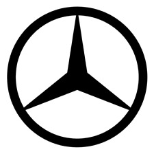 Mercedes Benz Vinyl Decal, Bumper Sticker, Decal for Car, Windows, Outdoors, etc