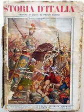 STORIA D'ITALIA PAOLO GIUDICI NERBINI 1939 DISPENSE VOLUME PRIMO ROMA IMPERO