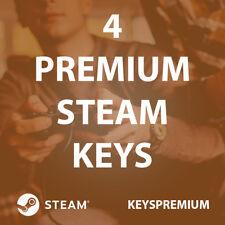 4 Random Premium Steam Key [Steam Key Region Free PC Game]