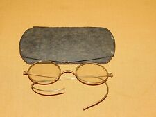 Vintage Stevens & Co Spectacles Ear Wrap Eyeglasses In D Kaplan Nyc Case