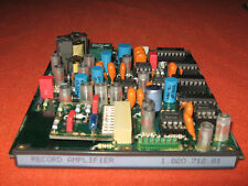 Studer A810 Record Amplifier Board  1.820.712.81 A812 A820 Board