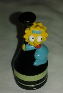 The Simpsons 3D Chess Set Replacement Maggie Black Pawn Token Piece  2001 Fox