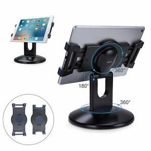 AboveTEK Kiosk POS iPad Stand 360° Rotating Tablet Desktop Adjustable Holder