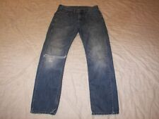 Men's Levi's 505 Jeans - 29 x 30 - Large Rip in Knee