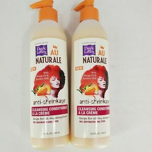 Dark and Lovely Au Naturale Anti-Shrinkage Cleansing Conditioner 13.5 oz. Lot 2