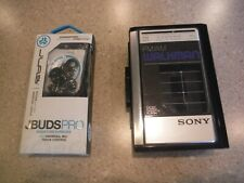 Sony Walkman / F41 radio cassette player + J Buds signature earbuds