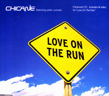 CHICANE - LOVE ON THE RUN CD SINGLE 5 TRACKS 2003 EXCELLENT CONDITION