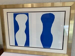 """Henri Matisse lithograph """"Forms"""" from the 1983 MOMA Edition of Jazz 1947 SUPERB"""