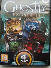 FOUR PLAY COLLECTION---GHOSTLY ADVENTURES---HIDDEN OBJECT---PC CD---BRAND NEW