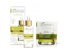 BIELENDA Super Power MEZO Anti-Age corrective Serum Reduction Pores +CREAM set