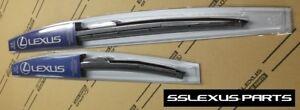 Lexus LS460 (2007-2016) OEM Genuine Front WIPER BLADE SET - (Sleek Profile)