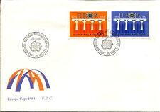 Finland: Europa 1984 FDC (#693-94)