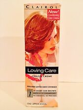 (2) Loving Care 75 Light Ash Brown Color Creme Hair Color Clairol