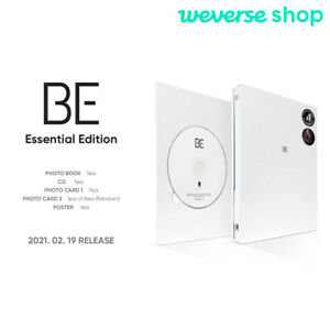 BTS BE Essential Edition CD+Photobook+Photocard+Etc+Weverse shop Gift+Tracking#