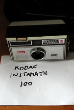 Vintage Kodak Instamatic 100 Camera Boxed with Case and Strap