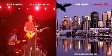 MARK KNOPFLER. SAILING TOUR. VANCOUVER 2001. DIGIPACK 2 CD.