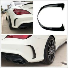 Heck Stoßstange Flaps Apron Spoiler Fins Lippe Canard Benz CLA250/200 CLA45 AMG