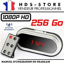 RÉVEIL CAMERA ESPION RVLHD2 FULL HD 1080P + MICRO SD 256 GO DÉTECTION VIDÉO HDMI