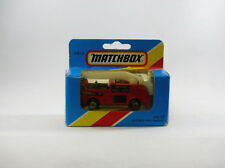 Matchbox Superfast MB13 Camion pompier nacelle  Neuf/boîte (#T6E)