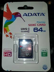 Adata SDXC card 64GB