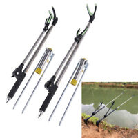 1.7/2.1M Fish Rod Stand Bracket Angle Adjustable Fishing Rods Hand Rod HoldWD