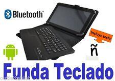 """Funda con Teclado Bluetooth para Tablet 10.1"""" Universal keyboard español"""