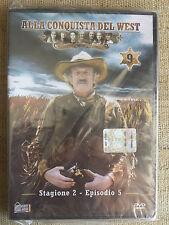 Alla conquista del West numero 9 - Stagione 2 Episodio 5 - DVD nuovo sigillato