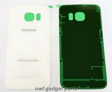 OEM Battery Back Panel cover For Samsung Galaxy S6 Edge G925R US Cellular WHITE