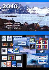 Groenland 2010 jaarcollectie    postfris/mnh.