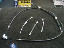 Vauxhall zafira câble frein à main arrière 1999-06 brakecable set x 4 les freins à tambour