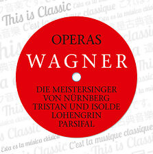 CD Richard Wagner Opéra Complete Works 12CDs With Tristan et Isolde