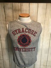 VTG Syracuse University Vest Medium Artex Football Basketball Boeheim Carmelo