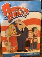 American Dad - Volume 1 (DVD, 2009, 3-Disc Set, Full Frame iTunes Sampler)