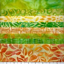 8 FAT QUARTERS SUNSHINE SAMPLER LUNN FABRIC BATIKS SPECIAL EDITION FAT QUARTER