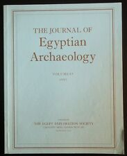 The Journal of Egyptian Archaeology Volume 83 1997 The Egypt Exploration Society
