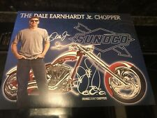 Dale Jr Sunoco Orange County Choppers Bike Design Signed Autograph  Hero Card