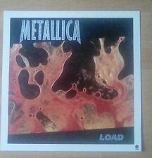 "METALLICA -Promotional 12"" x 12"" Card (Flat) Load/Hero Of The Day (Double Sided)"