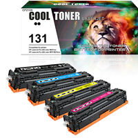 4PK Compatible for HP 131A CF210A Color Toner LaserJet Pro 200 M251nw MFP M276nw