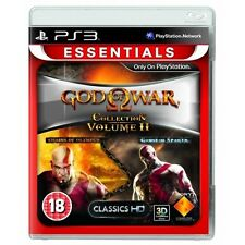God of war collection volume 2 II Game (Essentials) PS3-NEUF!