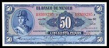 El Banco de Mexico 50 Pesos 26.07.1950 Serie CC, P-49c1.  UNC.
